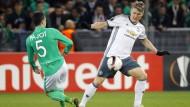 Bastian Schweinsteiger wurde in der Europa League eingewechselt.