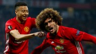 Auf nach Schweden: Manchester United steht im Finale der Europa League.