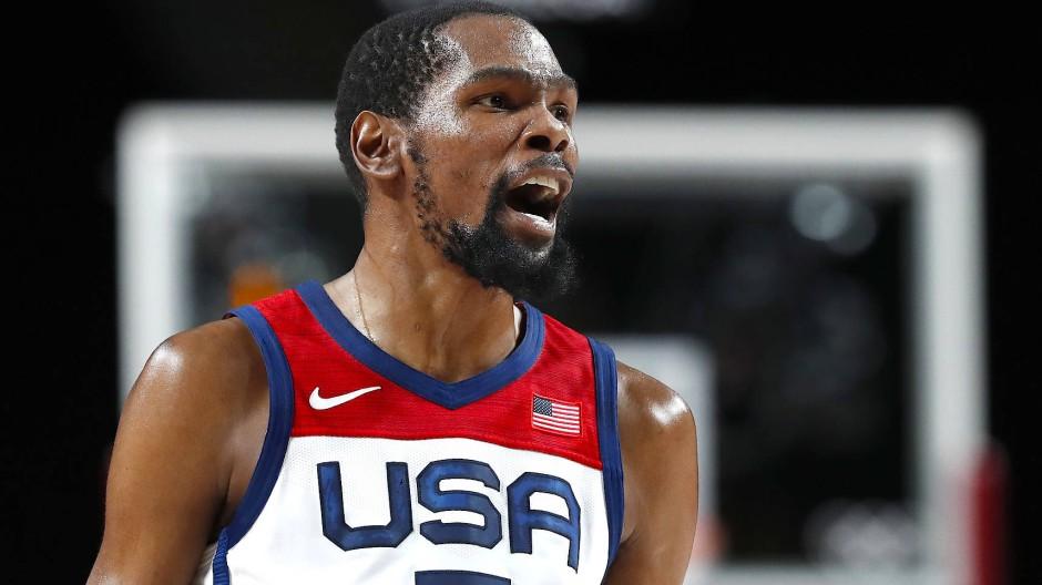 Führungsspieler im Halbfinale: Kevin Durant