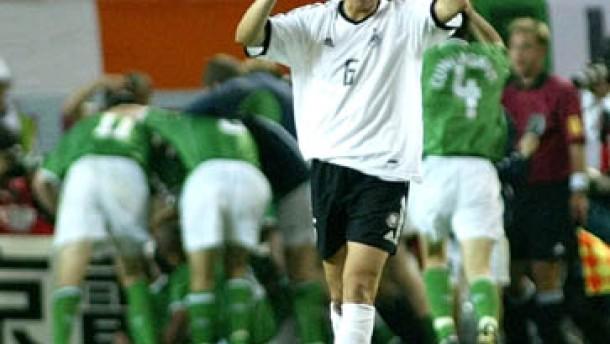 1:1 gegen Irland: Deutschland muss jetzt zittern