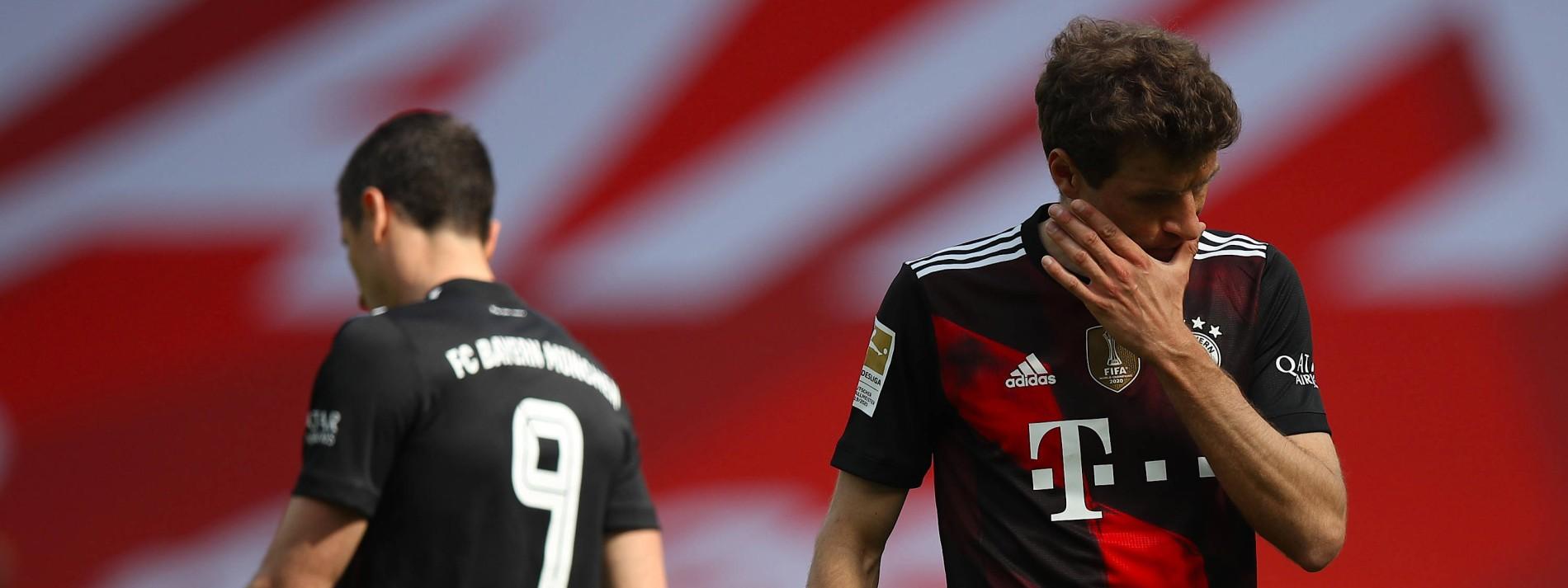 Bayern zu müde für die Titelfeier