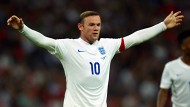 Kapitän Rooney trifft