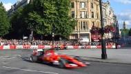 Die Formel 1 macht in London Station.