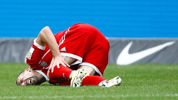 Bayern verlieren die Kontrolle und Ribéry