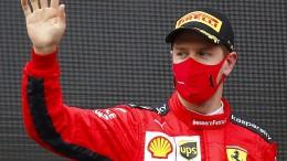 Vettel fährt aufs Podium – und ärgert sich doch