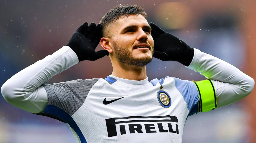 Vier Mal erfolgreich für Inter Mailand: Mauro Icardi.