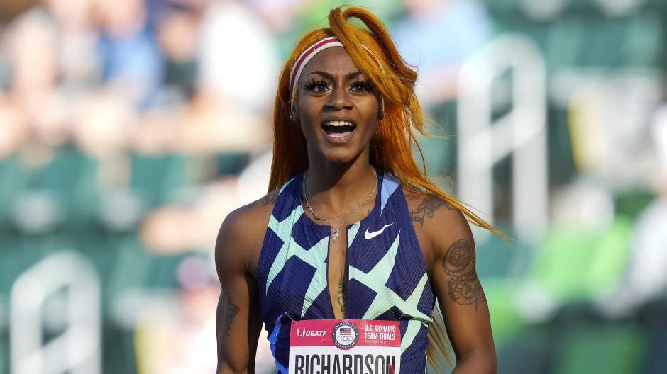 """In einem """"Zustand emotionalen Schmerzes"""": Sha'Carri Richardson"""