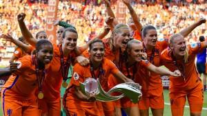 Niederlande feiern rauschendes Fest