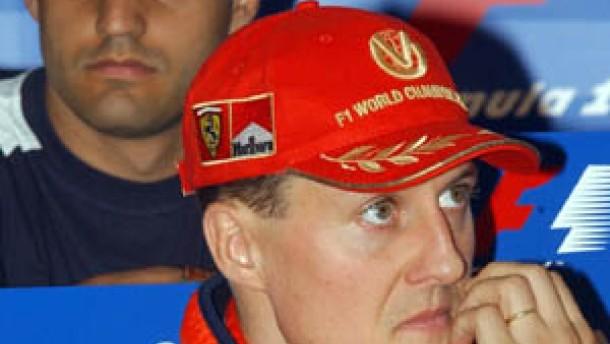 Schumacher öffnet Montoya keine Tür