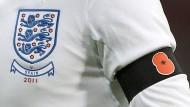 """Rund um den """"Remembrance Day"""" wird in Großbritannien die Klatschmohn-Blüte getragen."""