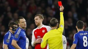 Arsenal verliert nicht nur Mertesacker