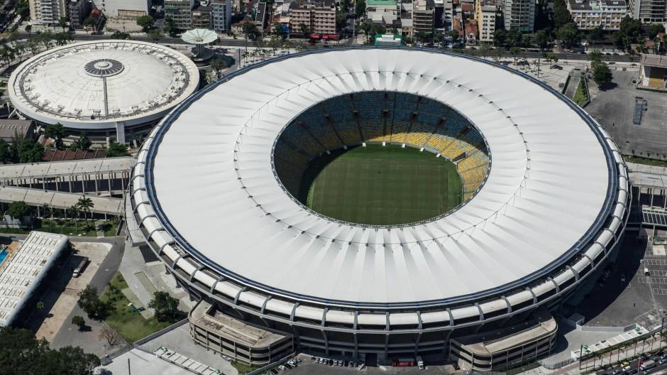 Im neuen Maracana-Stadion findet am 13. Juli 2014 das WM-Finale statt