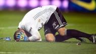 Lyons Torwart Anthony Lopes wurde Opfer eines Angriffs beim Spiel in Metz.