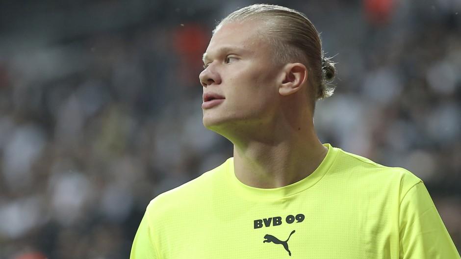 Borussia Dortmund hofft auch in Amsterdam auf die Tore von Erling Haaland.
