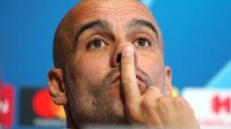 Große Erleichterung bei Pep Guardiola
