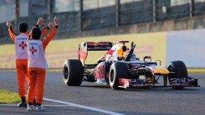 """Für """"vorübergehende Verwendung"""" ist auch Sebastian Vettels Formel-1-Auto von der Steuerpflicht befre"""
