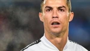 Eine dunkle Nacht nicht nur für Ronaldo