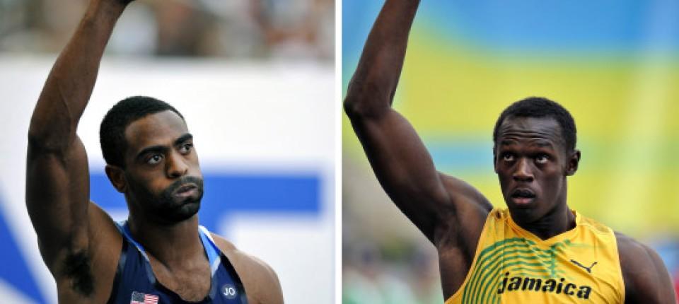 Usain Bolt und Tyson Gay: Die schnellsten Patienten der Welt