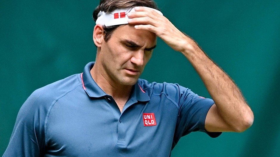 Roger Federer kommt nach seinen beiden Knie-Operationen einfach nicht in Schwung.
