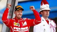 """""""Was für ein Hammertag"""": Sebastian Vettel gewinnt in Monaco."""