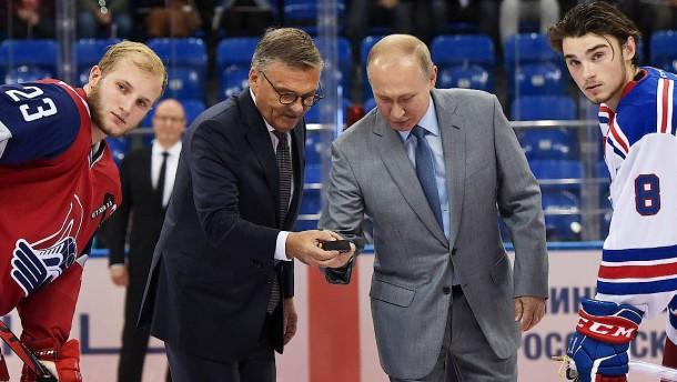 Der Napoleon des Eishockeys