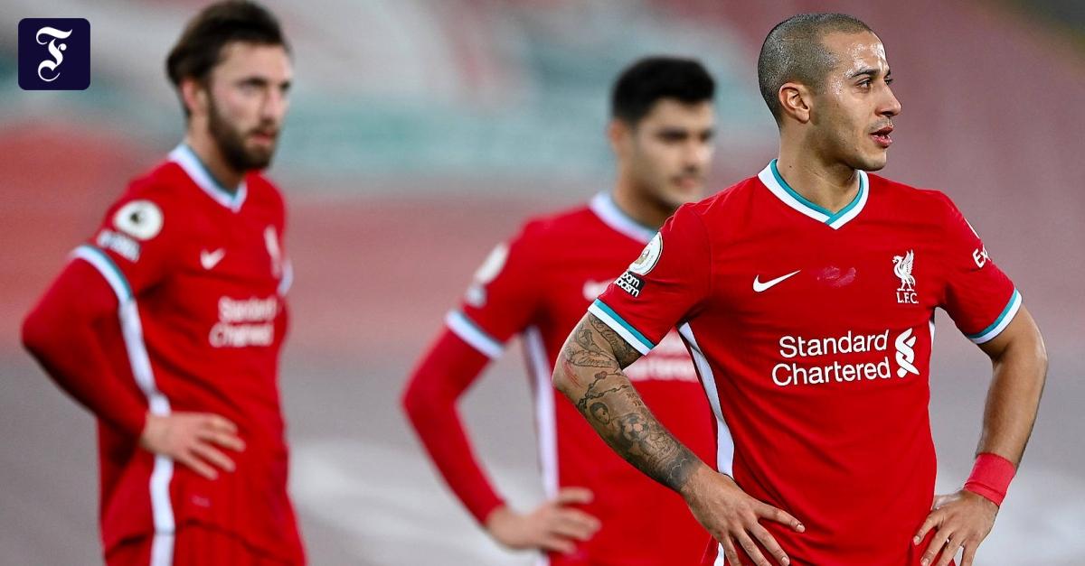Die Krise des FC Liverpool wird immer schlimmer - FAZ - Frankfurter Allgemeine Zeitung