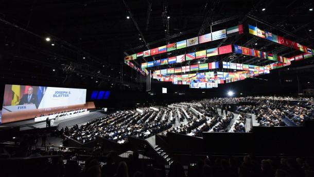 Fifa-Kongress läuft nach Bombendrohung weiter