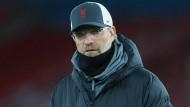 """""""Nicht der beste Moment"""" für teure Transfers: Liverpools Trainer Jürgen Klopp mahnt zur Vorsicht."""