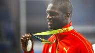 Olympiasieger Grenada: Kirani James gewann Silber