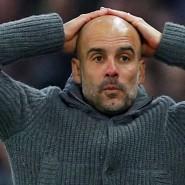 Champions League ohne Manchester City? Trainer Pep Guardiola kann es kaum fassen.