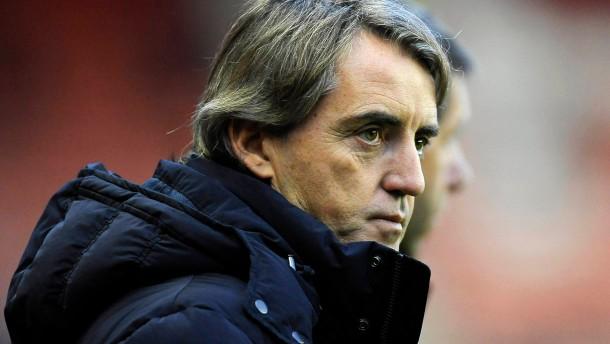 """""""Es ist unmöglich, dass zwei Männer das nicht sehen konnten"""": Roberto Mancini"""