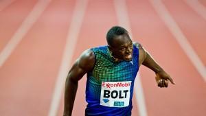 Bolt läuft Weltjahresbestzeit