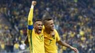 Halbfinale erreicht: Brasilien hat die Medaillen in Sicht.
