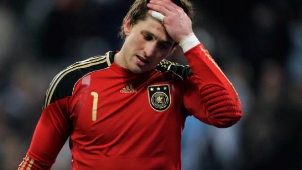 Die Nummer eins gegen Frankreich: Torwart Rene Adler