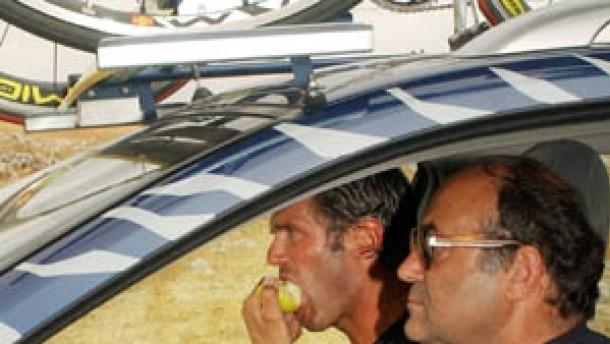 Cipollini steigt aus - Zabel bleibt ohne Chance