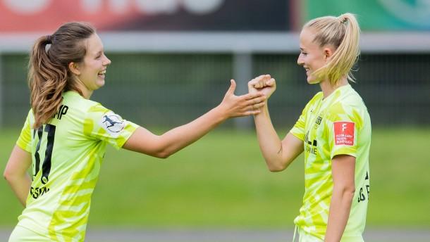 Essen fordert im Pokalfinale Seriensieger Wolfsburg