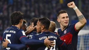 Die Bayern ziehen mit Dortmund gleich