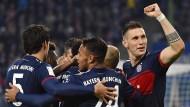 Ein Tor, drei Punkte: In Hamburg gewinnen die Bayern knapp.
