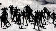 Biathlon in Aktion