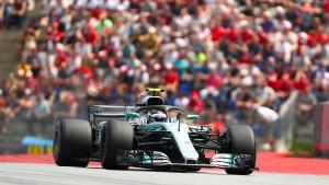 Bottas startet von der Pole – Strafe für Vettel