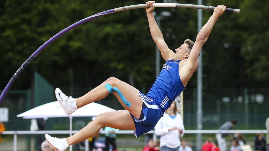 Kraftanstrengung: Gordon Porsch, hier bei den deutschen Hochschul-Meisterschaften