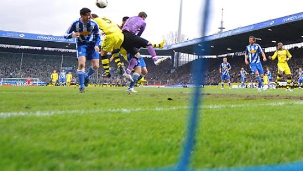 Dortmund bleibt auf Europapokal-Kurs