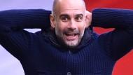 Die Champions League gewann Pep Guardiola bisher nur mit dem FC Barcelona.