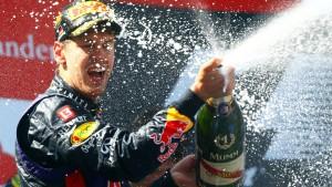 Vettels Heimsieg im Eifelkrimi