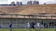 Grün wie die Hoffnung:  Beitar Maale Adumim spielt im Westjordanland - und sorgt für Unmut
