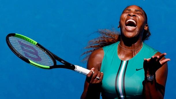 Die erstaunliche Reaktion der Serena Williams