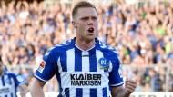 Torgarant: Rouwen Hennings hat bislang 17 Treffer erzielt.