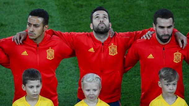 Darum schweigt Spanien weiter bei der Hymne