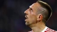 """""""Ist ein Platz in der Reserve zu haben? Oh, Didier, ich bin bereit!"""": Franck Ribéry."""