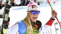 Auftakt nach Maß: Lara Gut gewinnt Den Riesenslalom in Sölden.